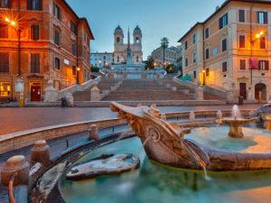 Испанская лестница (Рим)