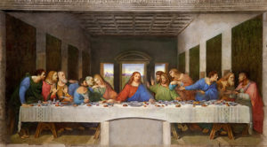 Тайная вечеря Леонардо да Винчи (Милан)